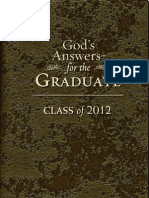 God's Answers for Graduates - Class of 2012