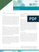 Procurement Outsourcing Case Studies