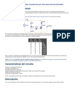 Regulador de Potencia Por Triac Para Micro Control Ad Or