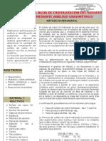 p 04 Gravimetria Sulfato de Cobre (II)