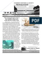 Spring 2012 Newsletter - North Berrien Historical Society