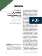 O Programa de Saúde da Família e a construção de um novo modelo para a atenção básica no Brasil