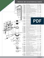 Proteam Provac Aviation Parts List