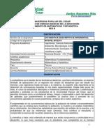 PROGRAMACIÓN DE ESTADISTICA DESCRIPTIVA E INFERENCIAL RED B UPC I 2012