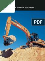 Manual Escavadeira CASE