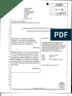 CA - Noonan et al v Bowen et al - 2012-02-16 - Obama Demurrer Memo of Points & Authorities