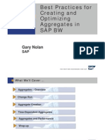 7477846 Best Practices for Creating and Optimizing Aggregates in SAP BW