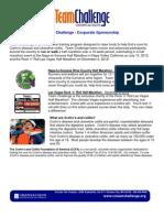 Corporate Sponsorship Packet- Napa 12