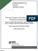 EHP  Endocrine Disruptor 2012Study