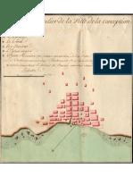 Plan Particulier de La Ville de La Conception Ou Penco 1712