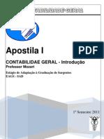 APOSTILA CONTABILIDADE GERAL 01 Introdução Aluno 2011