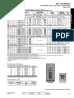 catálogo de centros de carga 17301005