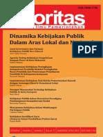 Jurnal Otoritas Vol.1 April 2011
