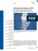 Dundee Securities - Focus on the Juniors - PDAC2011