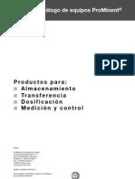 20110301 7165 Bombas Dosificadoras de Proceso Catalogo de Equipos ProMinent 2011