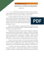 Antropologia Da Alimentacao Brasileira