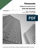 Guia de Usuario TVP50