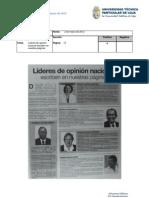 Informe de prensa del 2 al 9 de marzo de 2012