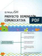 PROYECTO DIMENSIÓN COMUNICATIVA