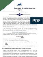 Criteres Qualite Avion Leger