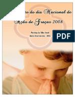 Dia Nacional de Ação de Graças 2008