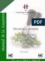 Recetas Universidad Pais Vasco