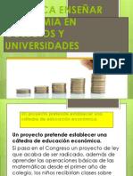 Proyecto de Educacion en Economia