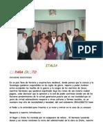 Informe de Italia - Noviembre de 2008