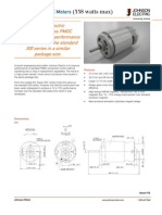 Low-Voltage PMDC Motors 338 Watts
