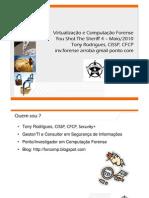 Virtualizacao e Computacao Forense Tony Rodrigues YSTS4 v1