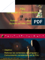 presentación PSU 4º