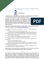 Relatório Final - Ação de formação sobre blogues 1