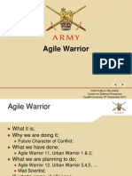 4 - Army Agile Warrior (8 Sep 2011 - Cardiff)