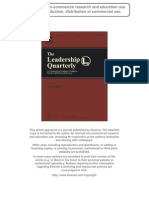 A leadership self-efficacy taxonomy and its relation to effective leadership (Anderson, Krajewski Et Al)