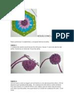 CrochetingClub. Hexagon Pattern (Español-English)