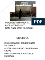 Conjunto Instrumental SEGUNDO MEDIO