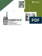 Motorola EX600XLS Manual