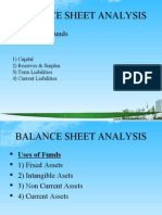 Balance Sheet Analysis Ppt @ Bec Doms Bagalkot Mba Finance