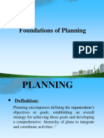 Foundations of Planning Ppt @ Bec Doms Bagalkot Mba
