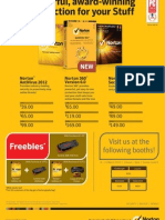 Norton flyer for IT Show 2012