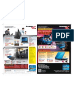 Lenovo computers flyer for IT Show 2012