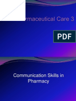 1.Introduction and Role of Pharmacist in Px Counseling