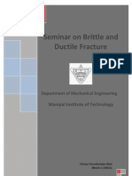 Seminar on Brittle and Ductile Fracture