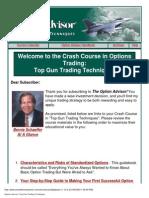 Bernie Schaeffer - Option Advisor - Top Gun Trading pdf