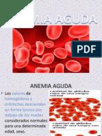 Anemia Aguda