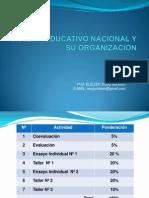 SISTEMA EDUCATIVO NACIONAL Y SU ORGANIZACIÓN