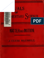 Maxwell_Matter and Motion (1894)
