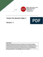 Tandem Free Operation-tfo