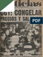 Diario Noticias - Argentina ´Año 1, No. 2, 22 de noviembre de 1973
