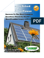 Solar Power Frequently Asked Questions